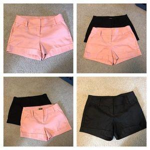 2 Pair Express shorts